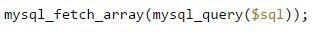 Kegunaan Fungsi Mysql_fetch_array PHP