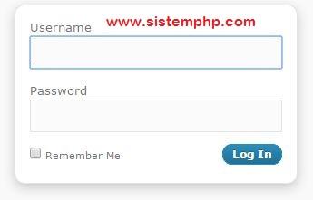 Cara membuat login php