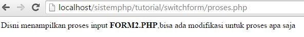 switch pada form php