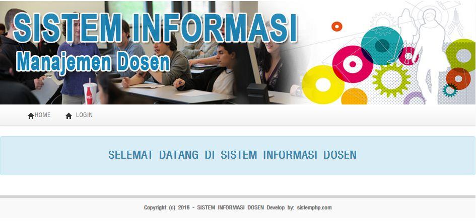 sistem informasi dosen