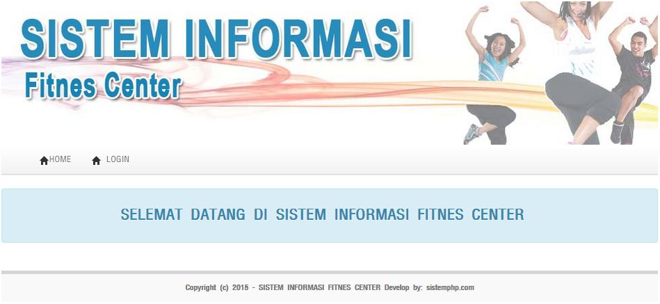 Sistem informasi fitnes center