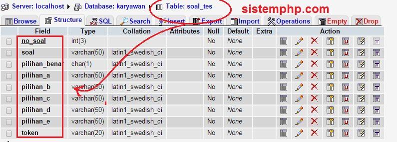 tabel-soal-tes-online