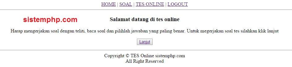 tampilan-awal-tes-online