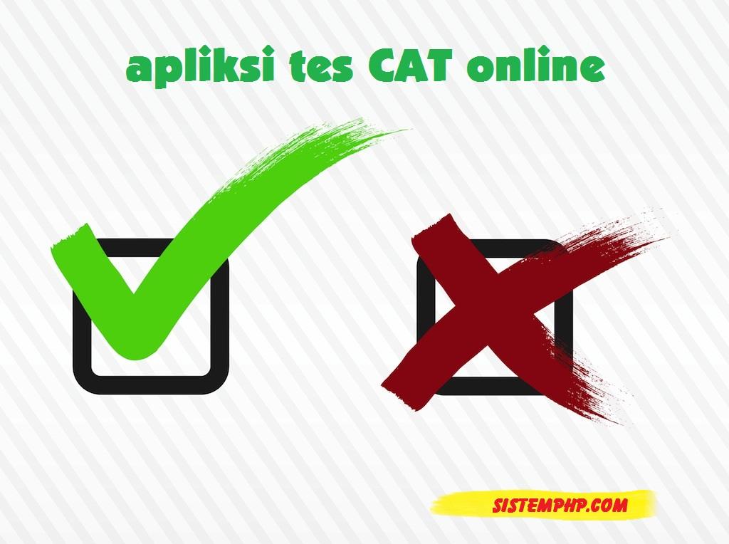 Aplikasi tes CAT Online