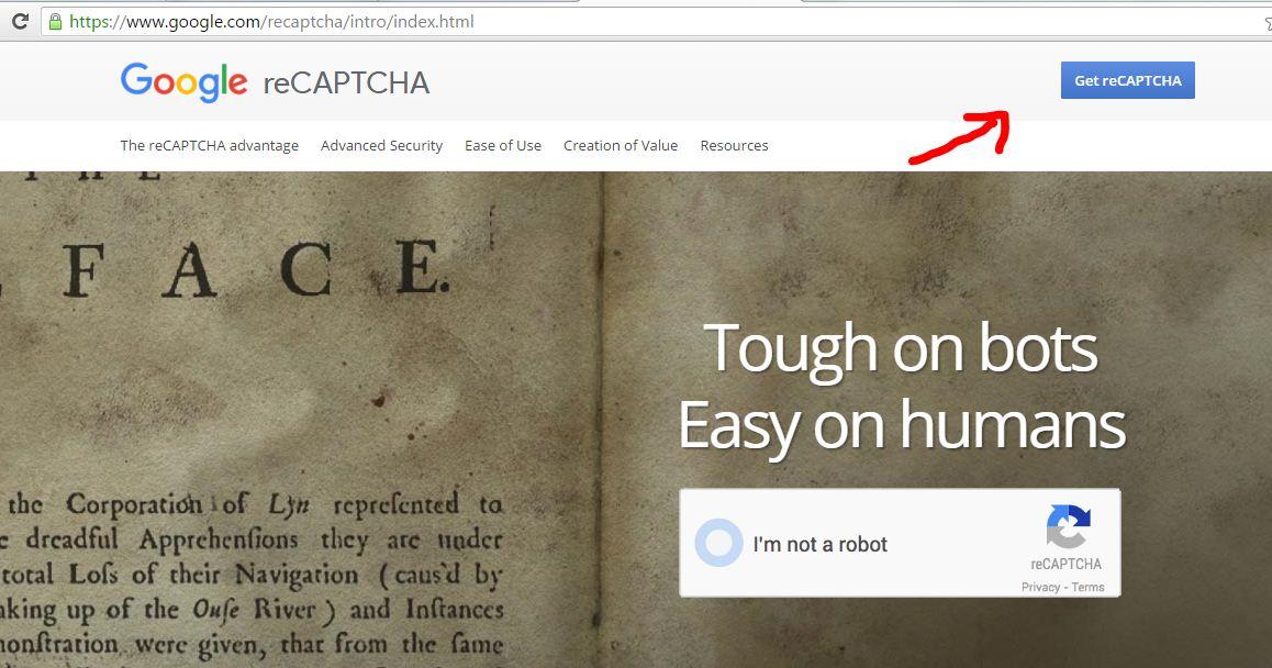 Cara menggunakan captcha google