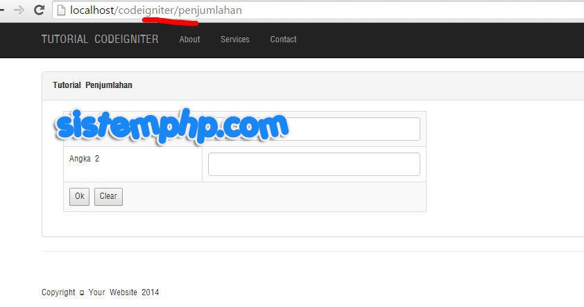 Menghilangkan index.php url codeigniter