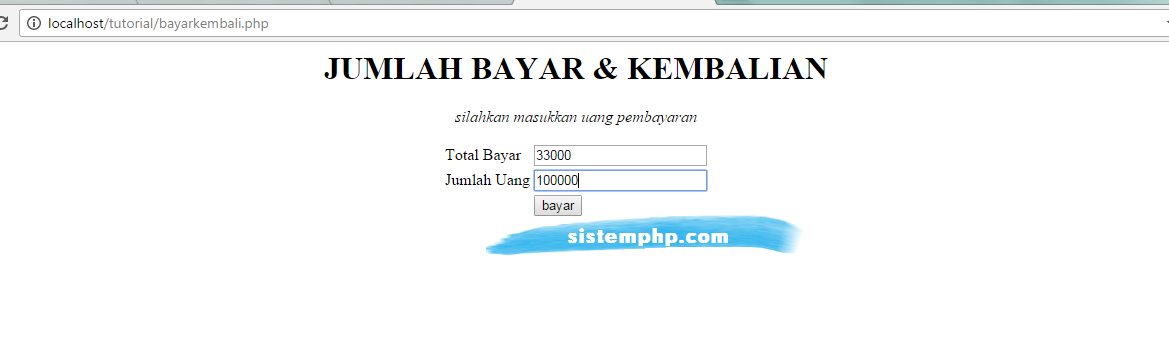 Form php belian php