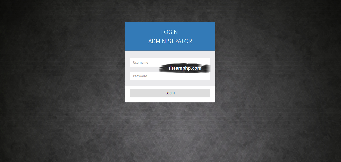 Login Aplikasi Double Exponential Smooth