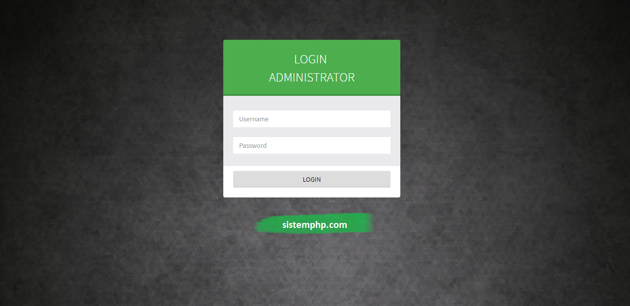Login SPK single exponential smooth