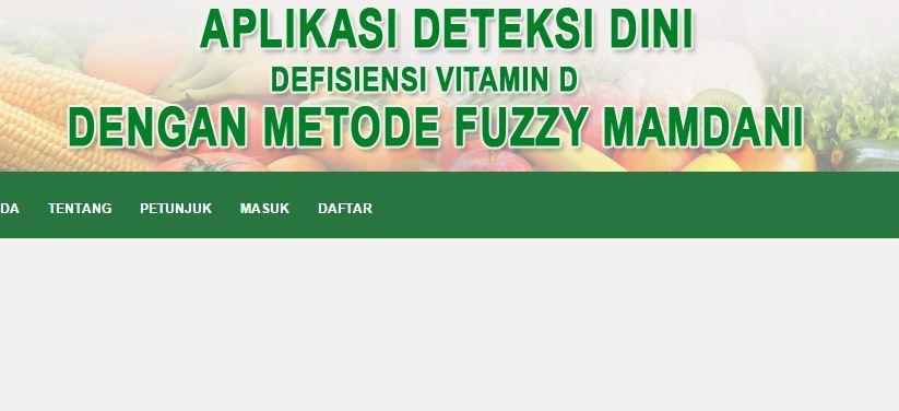 Aplikasi Fuzzy Mamdani PHP