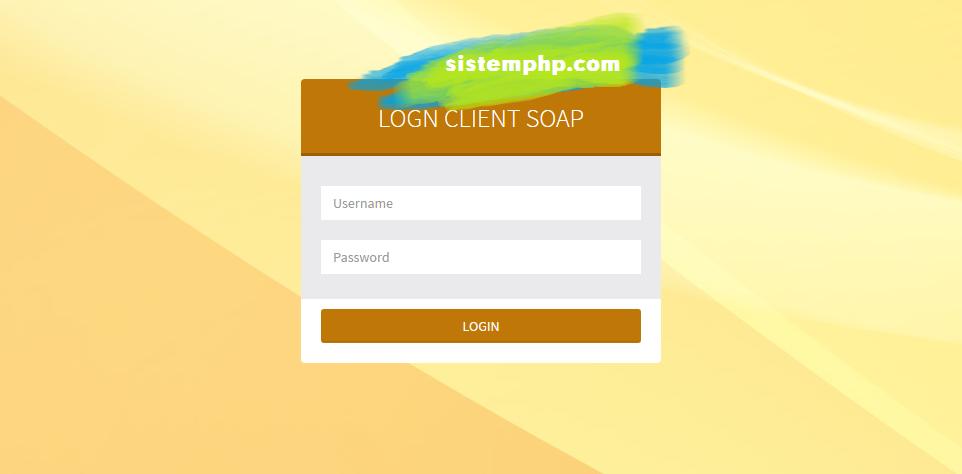 Web Service – SOAP – Cara Membuat Login