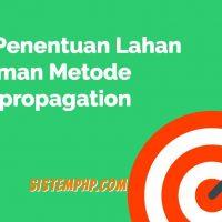 SPK Penentuan Lahan Tanaman Metode Backpropagation