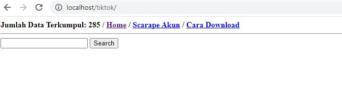 Scrape search