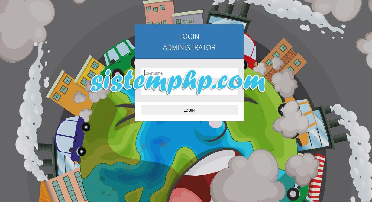 Login aplikasi prediksi poluan backpropagation